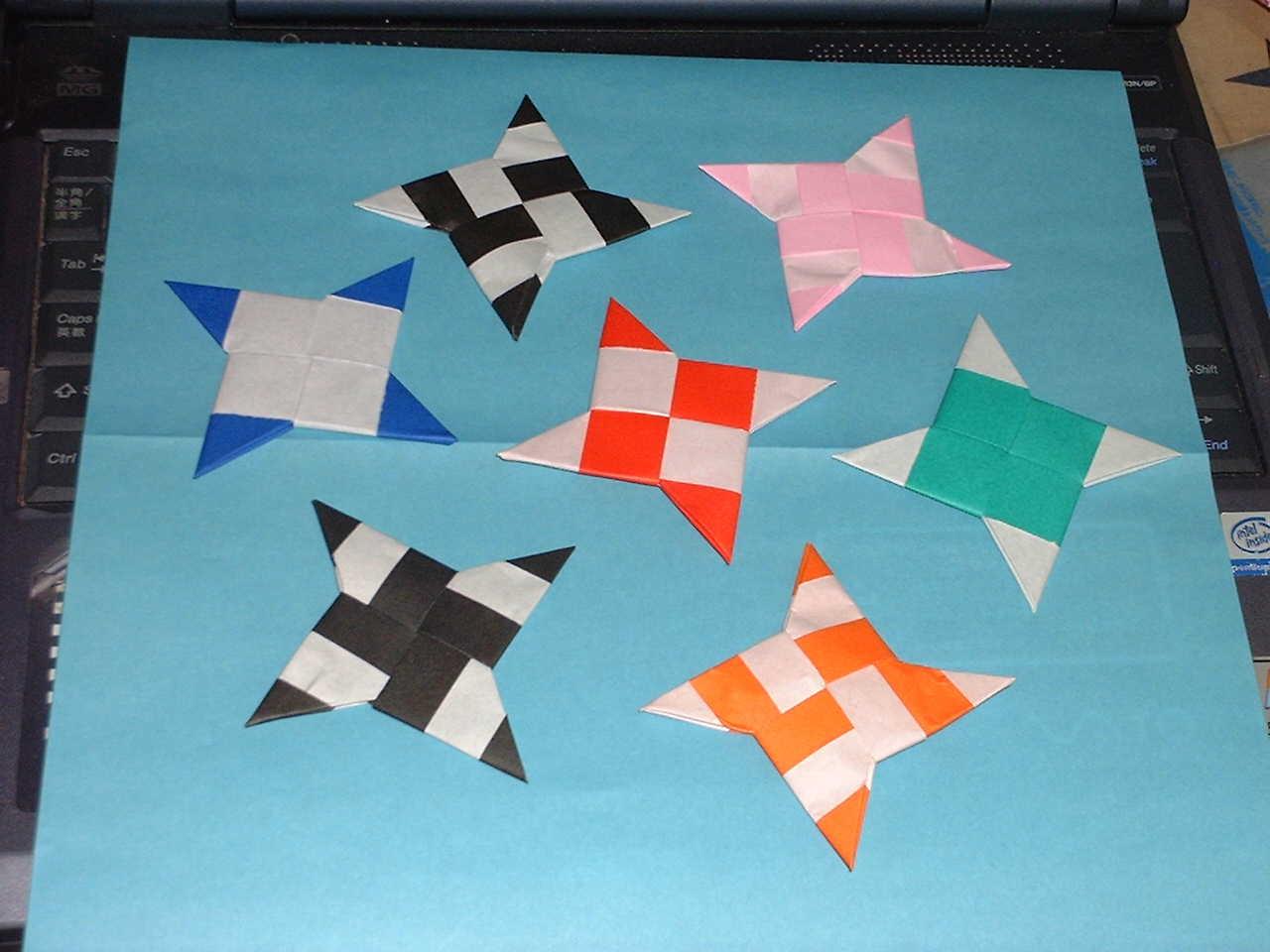 すべての折り紙 手裏剣 折り紙 簡単 : 手裏剣の作り方の画像 - BIGLOBE ...